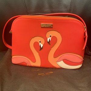 BNWOTKate Spade ♠️ Flamingo Hanna Crossbody Bag⭐️